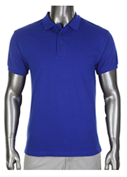 Pro Club Pique Polo Collar Royal Blue Shirt