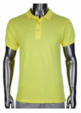 Pro Club Pique Polo Collar Yellow Shirt