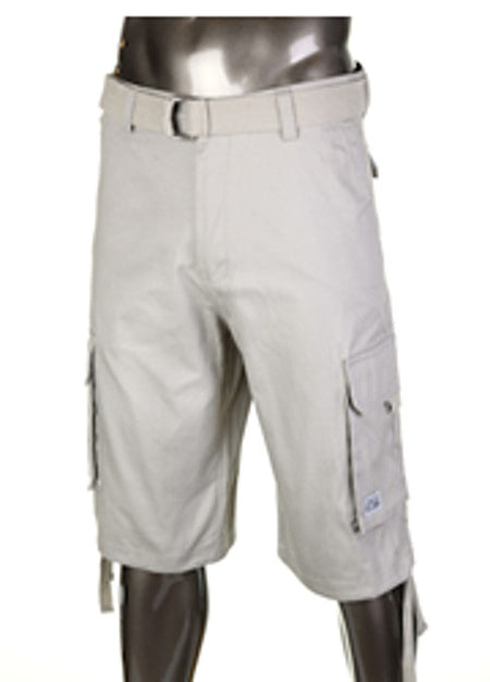 Khaki Pro Club T Will Cargo Shorts