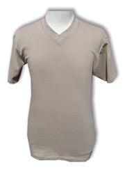 Pro Club Comfort Short Sleeve V-Neck T-Shirt Khaki
