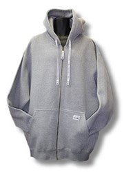 Pro Club Heavyweight  Full Zip Grey Hoodie