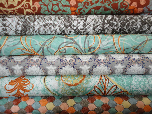Chiffon Collection by Westminster Fabrics Free Spirit 6 FQ