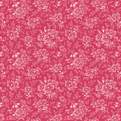 Penelope Flower Sprigs LH11036 Red by Lakehouse Fabrics by Holly Holderman