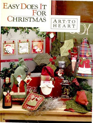 Book - EASY DOES IT FOR CHRISTMAS by Nancy Halvorsen