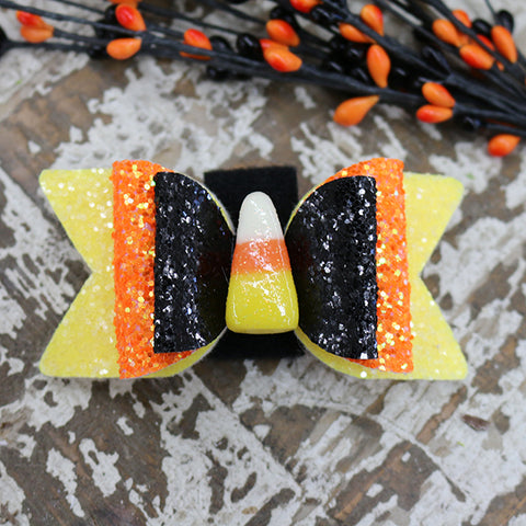 Glitter Bow Tie for Collar - Candy Cone