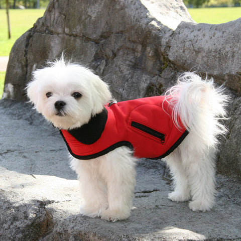 all weather technical small dog vest louie