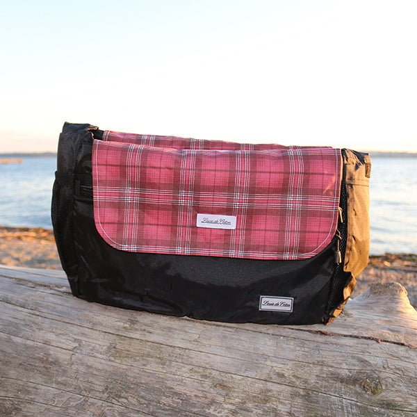 Cooling Bag Liner - Red Clay Plaid