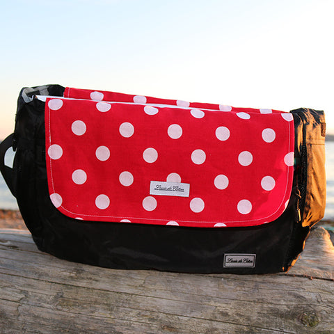 Cooling Bag Liner - Red Polka Dot