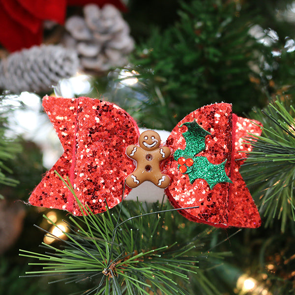 Holiday Glitter Bows