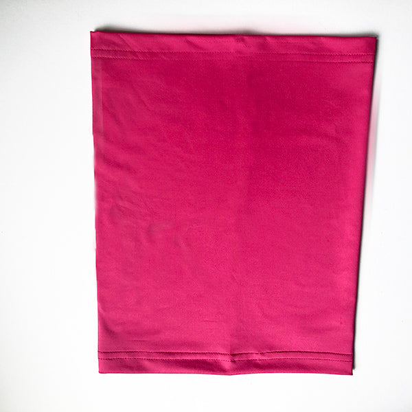 Cooling Neck Gaiter with UPF50 For People or Dogs - Fuchsia