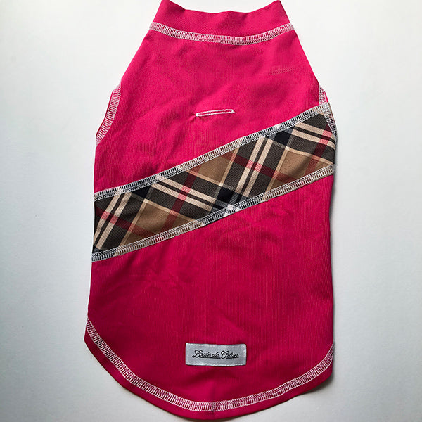 Calming Sleeveless Cooling Sun Tee UPF 50+ Fuchsia