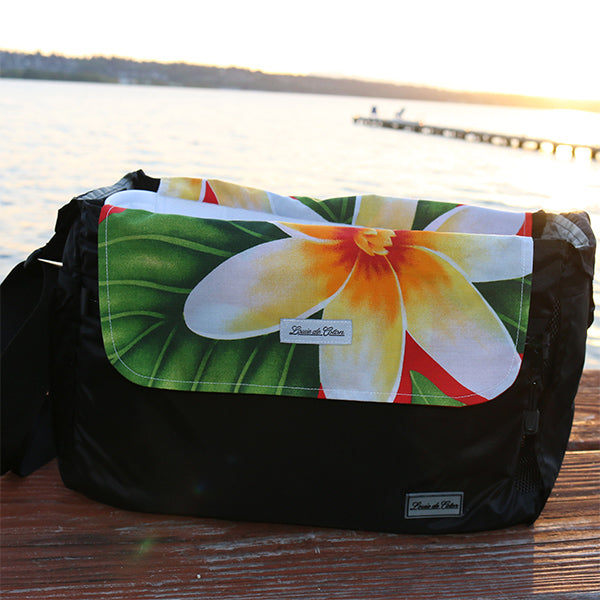 Cooling Pooch Bag Liner - Red Plumeria