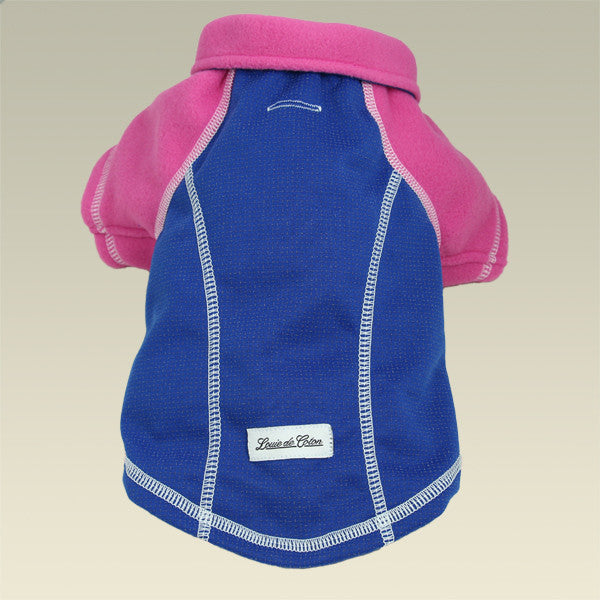 full length reflective outwear small dogs blue and pink