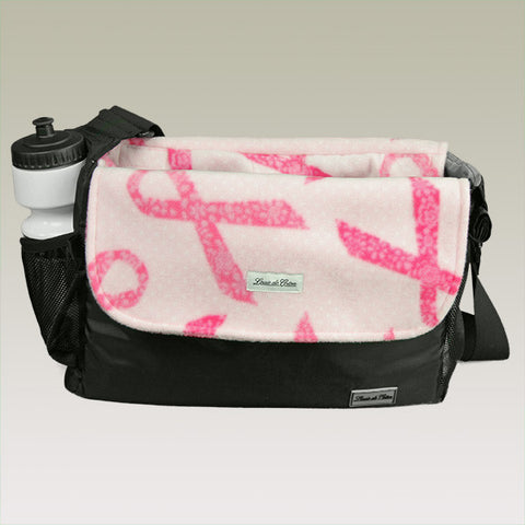 small dog carrier bag liner blanket hope for cure ribbon