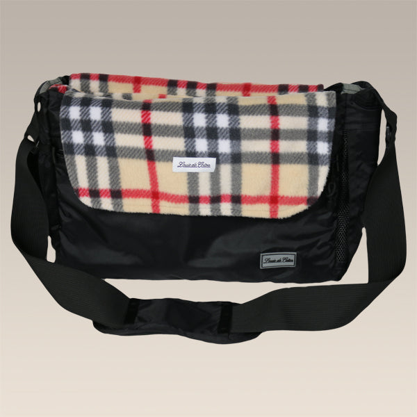 Bag Liner/Blanket - Cream Plaid
