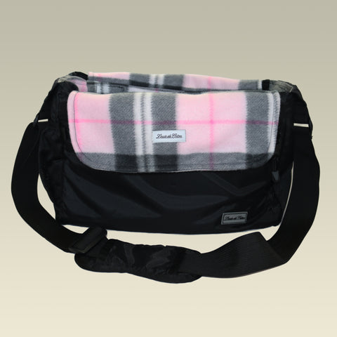 Bag Liner/Blanket - Pink Plaid