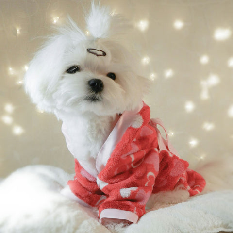 Sweetheart Handmade Plush Fleece Robe