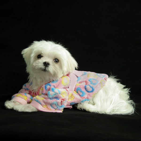 Heart Candy Handmade Ultra Plush Fleece Robe