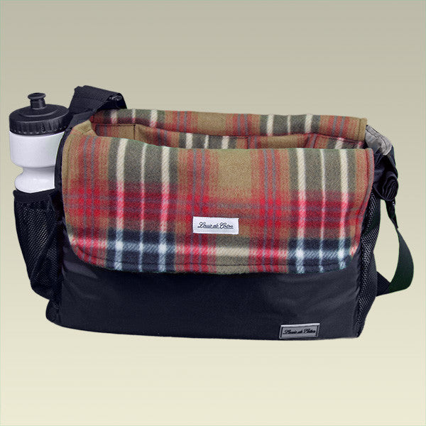Classic Plaid small dog carrier liner blanket