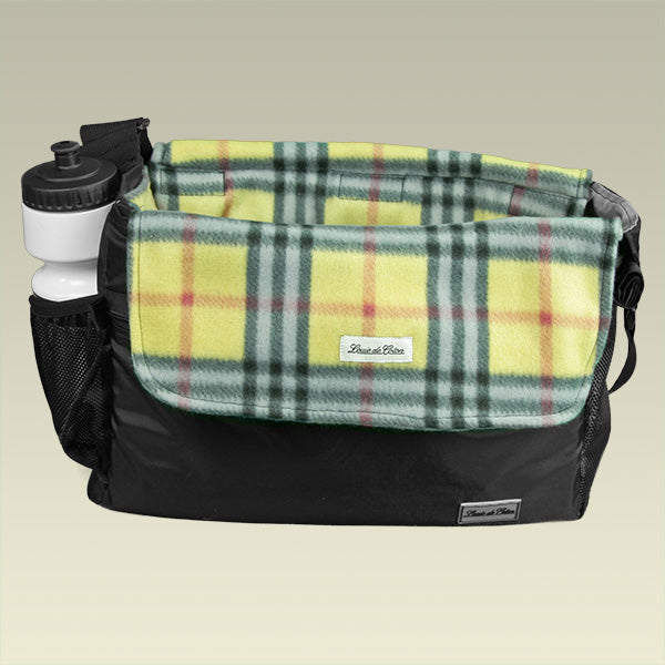 Bag Liner/Blanket - Yellow Plaid