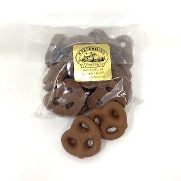 Pretzels, Milk Chocolate Covered 1/4 lb bag