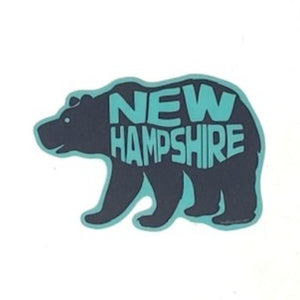 Bear NH Sticker - Green