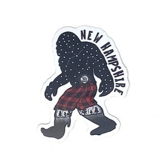 NH Bigfoot Constellation Sticker