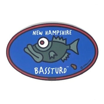 Bassturd Sticker