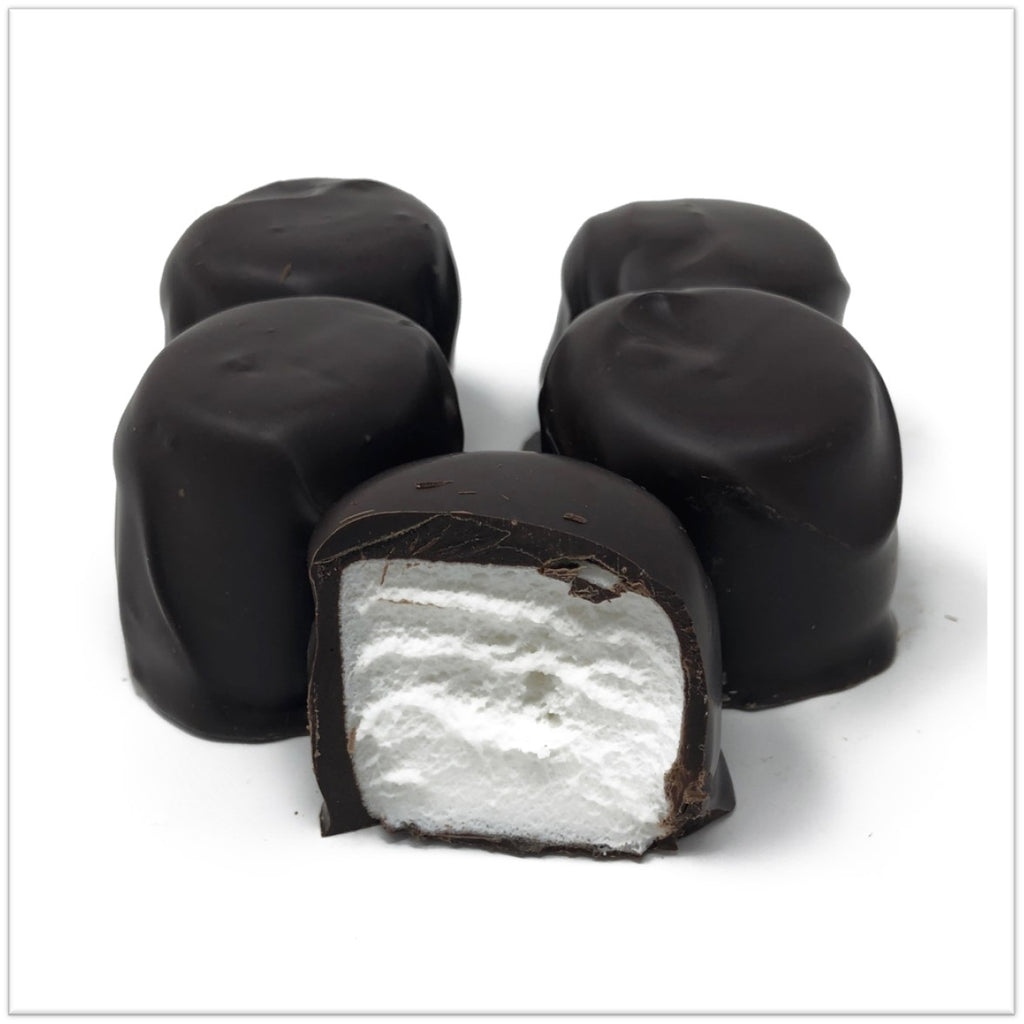 Chocolate Covered Marshmallows