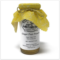 Ginger Pear Preserve