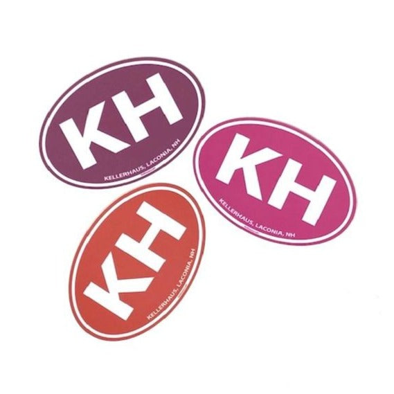 Kellerhaus Oval Sticker - KH
