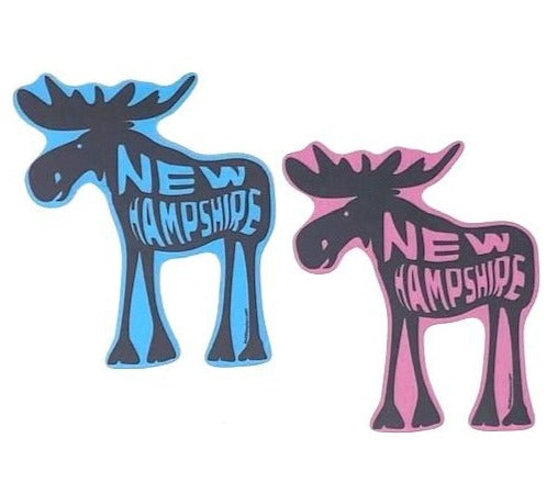 New Hampshire Moose Stickers