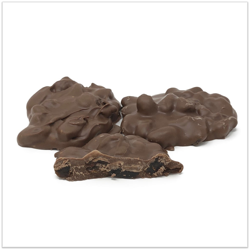 Sugar Free Milk Chocolate Raisin Cluster
