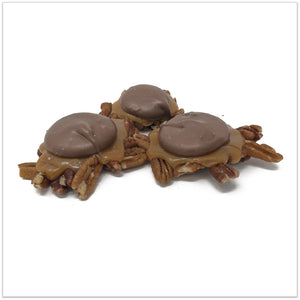 Homemade Pecan Turtles