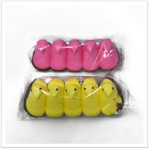 Chocolate Dipped Row of Peeps