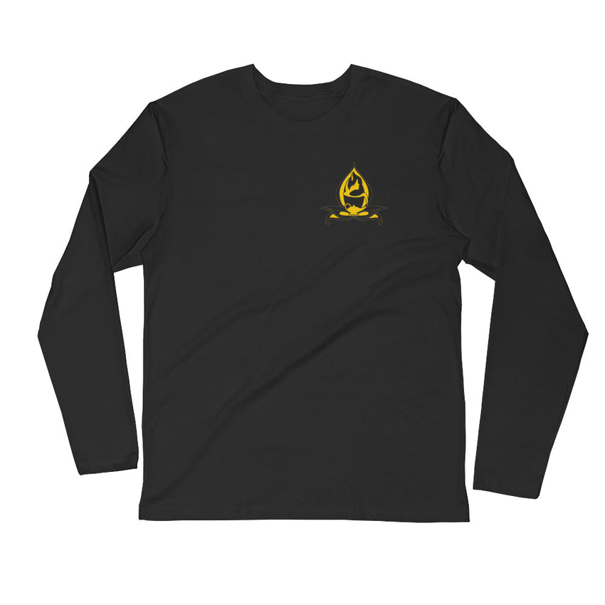Long Sleeve Fitted Crew