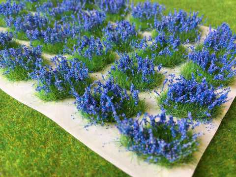 Serious-Play Flower Patches - Bluebells - Flower Tufts
