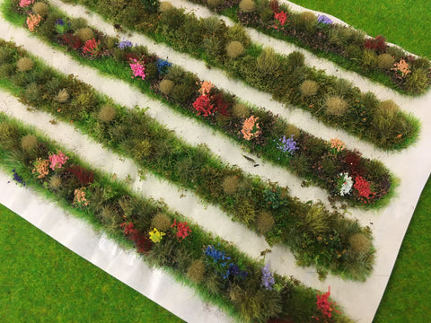 Trackside Dioramas - Static Grass Flower Tufts