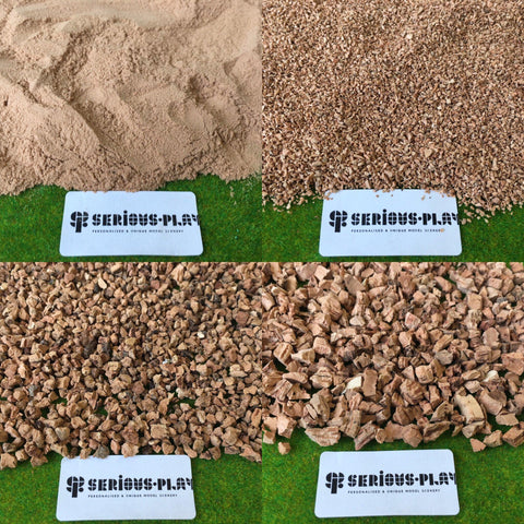 Cork Grain Set - Modelling Materials