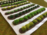 Serious-Play Large Farm Crops Set 02 Spring Flower Crops - Static Grass Tufts