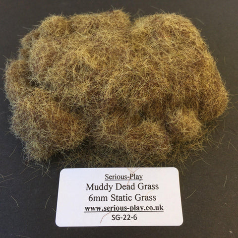 Muddy Dead Grass 6mm - Static Grass 1kg/500g Bulk Bags