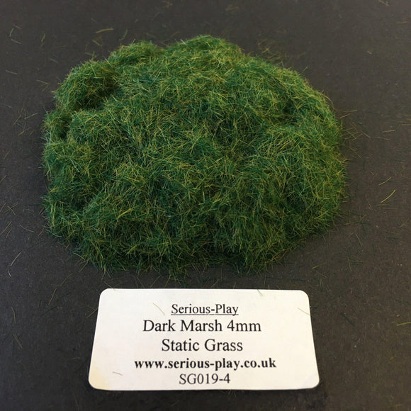 Dark Marsh 4mm - Static Grass 1kg/500g Trade Bags