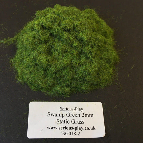 Swamp Green 2mm - Static Grass