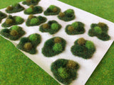 Green Rolling Dales Tuft Dioramas - Static Grass Tufts