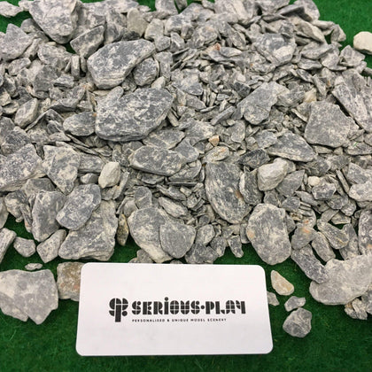 Slate Pieces (mixed sizes) - Modelling Material