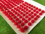 Fire Red 4mm - Standard Grass Tufts