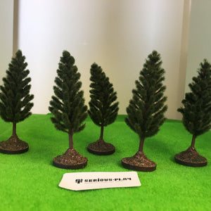 Pine Trees 5cm - Plastic crafted