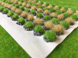 Straw & Grass Textured Tufts - Static Grass Tuft Dioramas