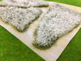 Snowy Meadow Patches - Static Grass Tufts