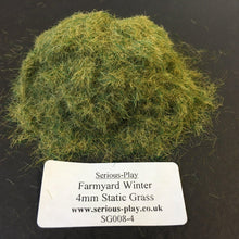 Farmyard Winter 4mm - Static Grass